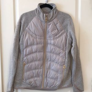 *NWT* Michael Kors Gray with Gold Hardware Jacket